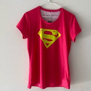 Under Armour Superman fitted tee